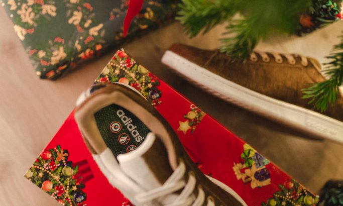 "Adidas Stand Smith ""Christmas Monster"""