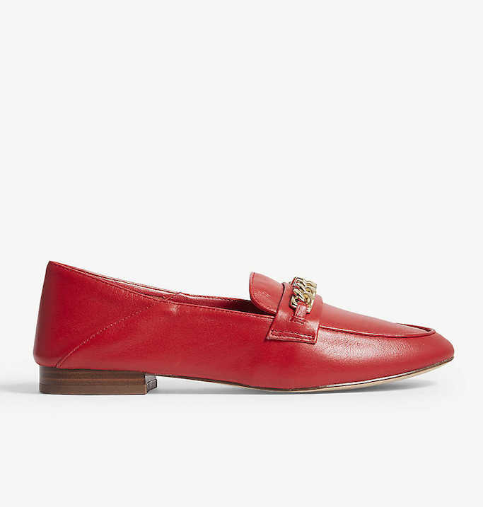 Aldo Gemona Red Loafers