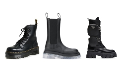 lug sole boots, apocalyptic boots, heavy