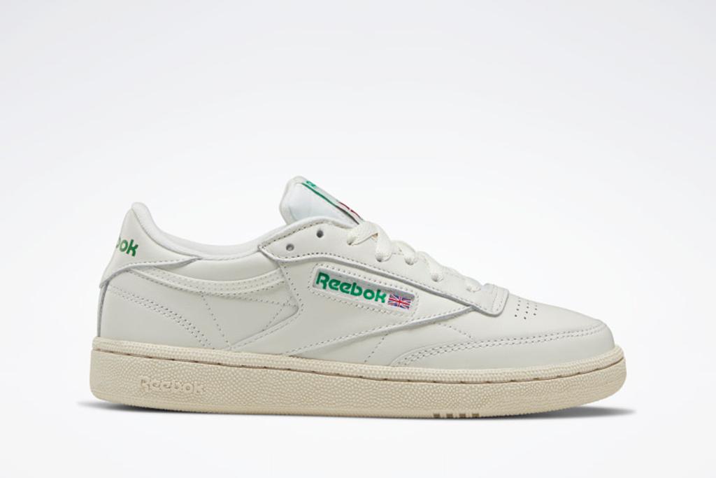 reebok club c sneaker, white sneakers, addison rae sneaker