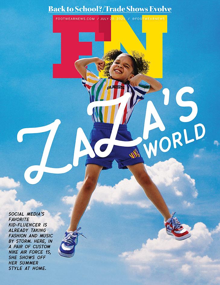 ZaZa, Footwear news cover, ZaZa x FN