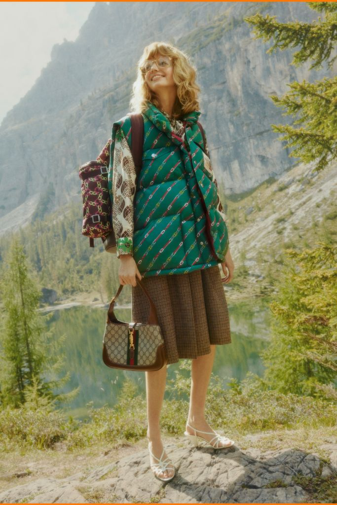 gucci, the north face, gucci north face, fashion collaboration, hiking boots, hikers, outdoors