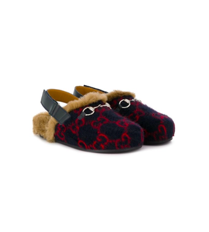 Gucci-Kids-Monogram-Loafers