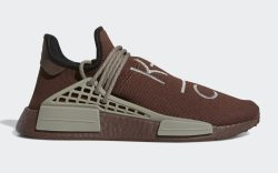 Pharrell Adidas NMD Hu Brown