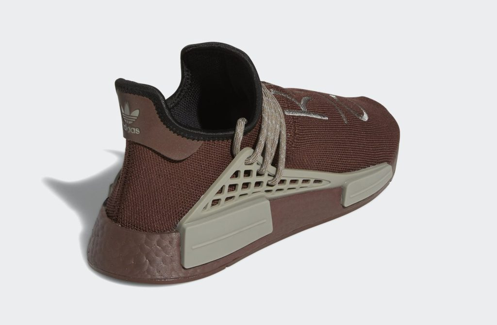 Pharrell Adidas NMD Hu Brown