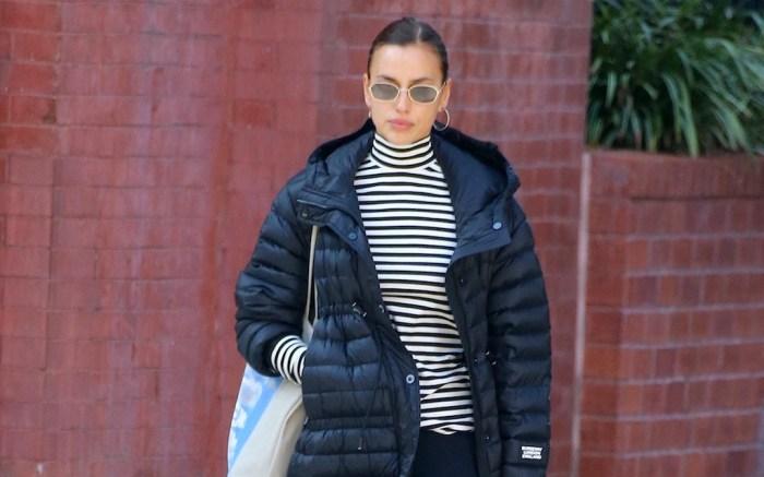 Irina Shayk Steps Out In New York