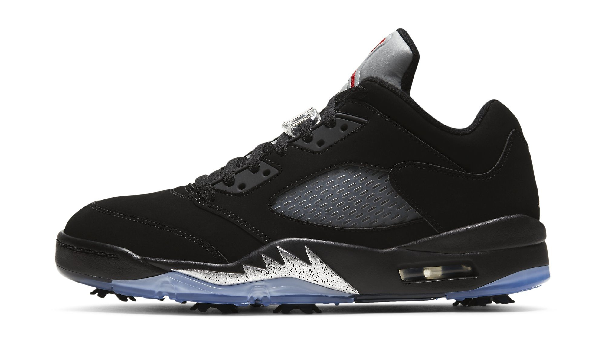 Air Jordan 5 Golf 'Black Metallic