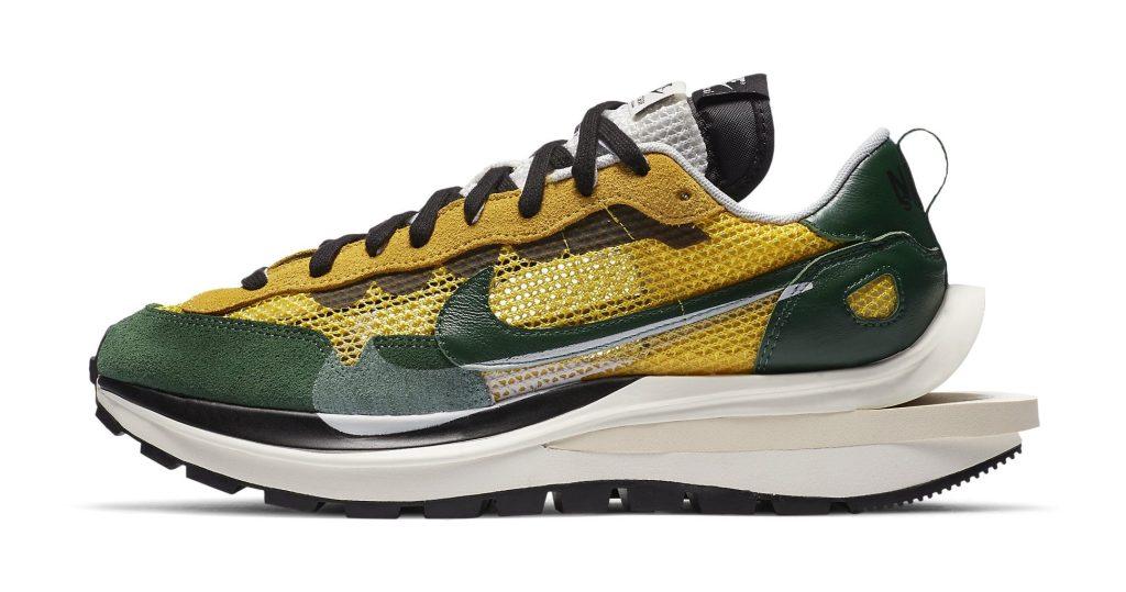 Sacai x Nike VaporWaffle 'Tour Yellow'
