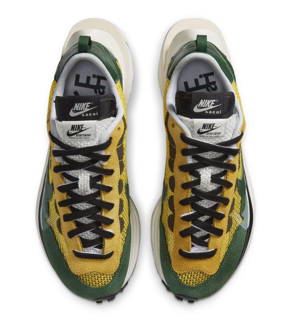 Sacai Nike VaporWaffle 'Tour Yellow'