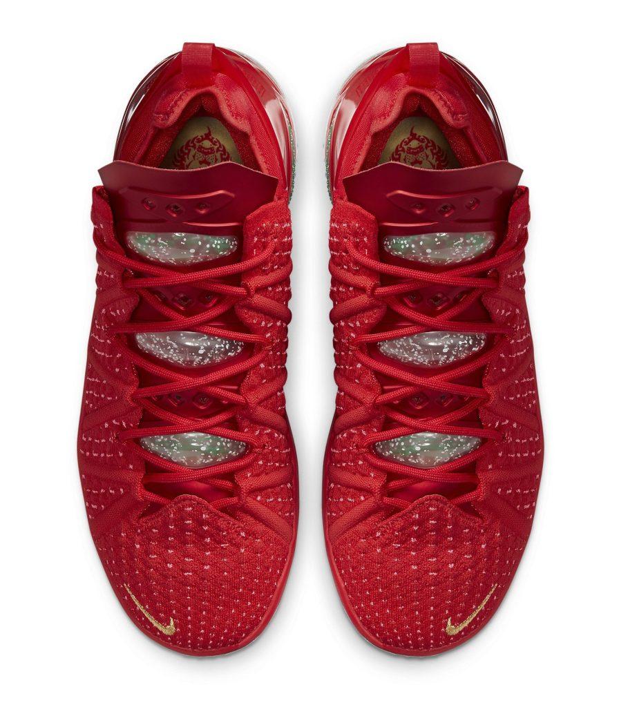 Nike LeBron 18 'X-Mas in LA'