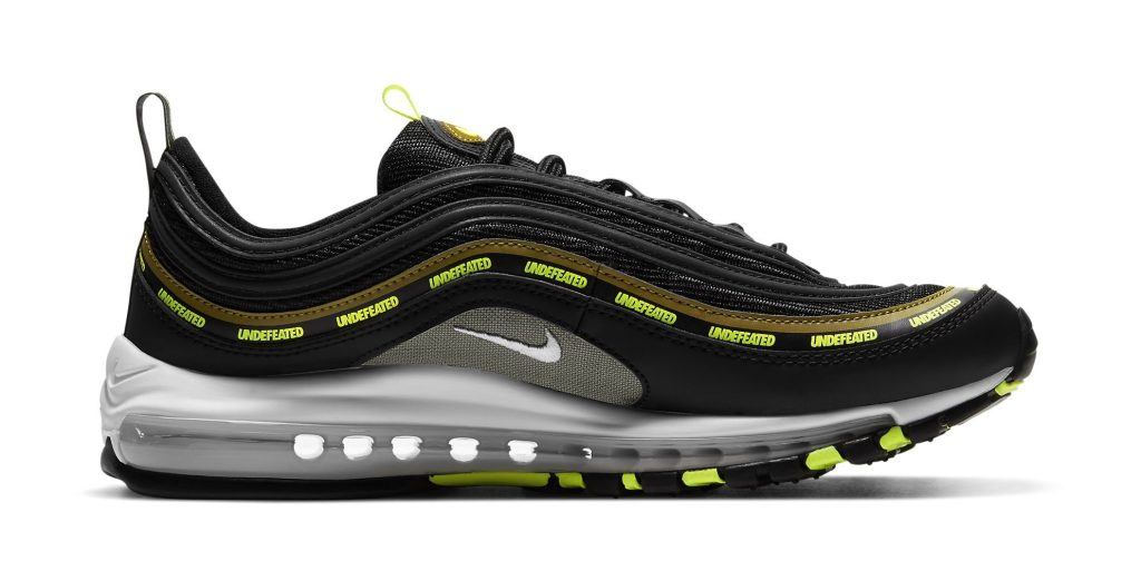 Undefeated x Nike Air Max 97 'Volt'