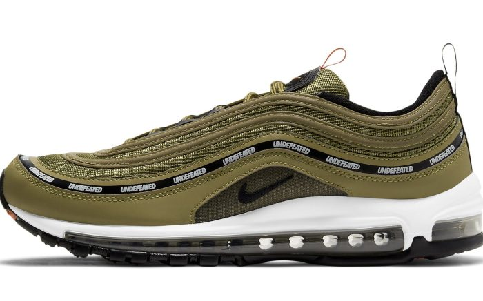 Undefeated x Nike Air Max 97 'Militia Green'
