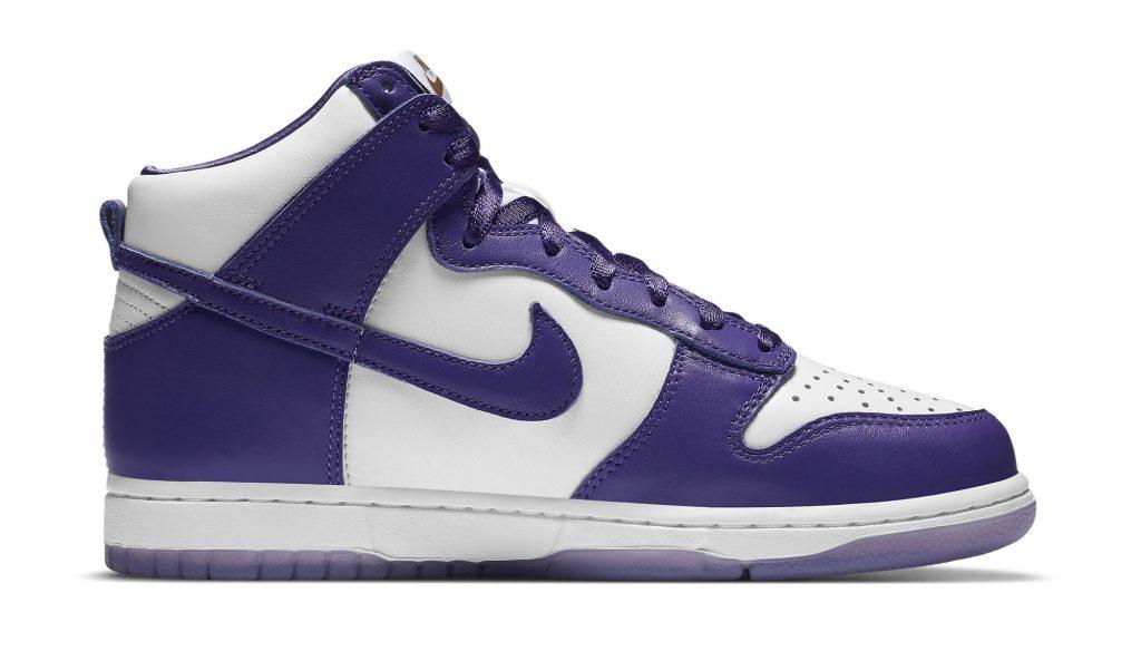 Nike Dunk High Women's 'Varsity Purple'
