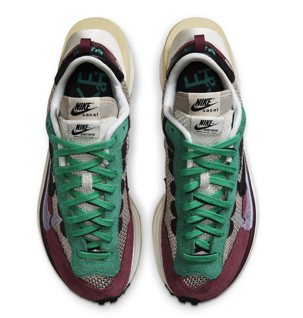 Sacai x Nike VaporWaffle 'Villain Red'