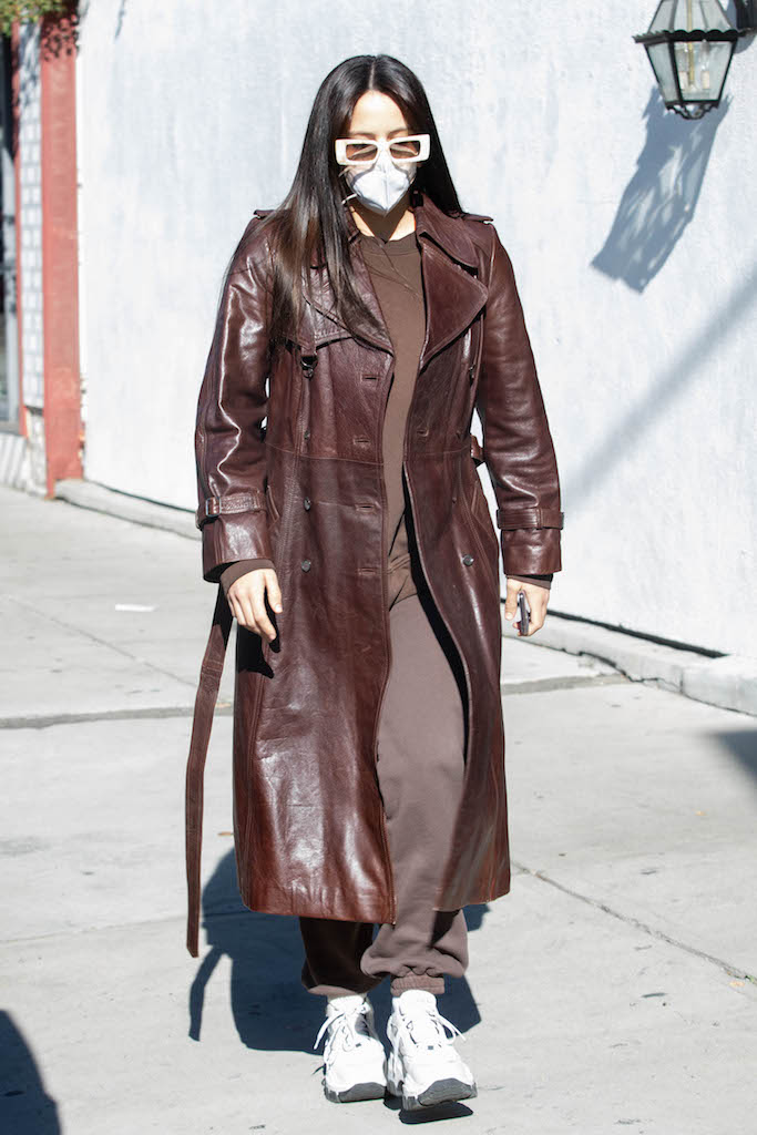 Rosalia is seen with new hair style leaving salon in West Hollywood. 19 Dec 2020 Pictured: Rosalia. Photo credit: iamKevinWong.com / MEGA TheMegaAgency.com +1 888 505 6342 (Mega Agency TagID: MEGA722049_004.jpg) [Photo via Mega Agency]