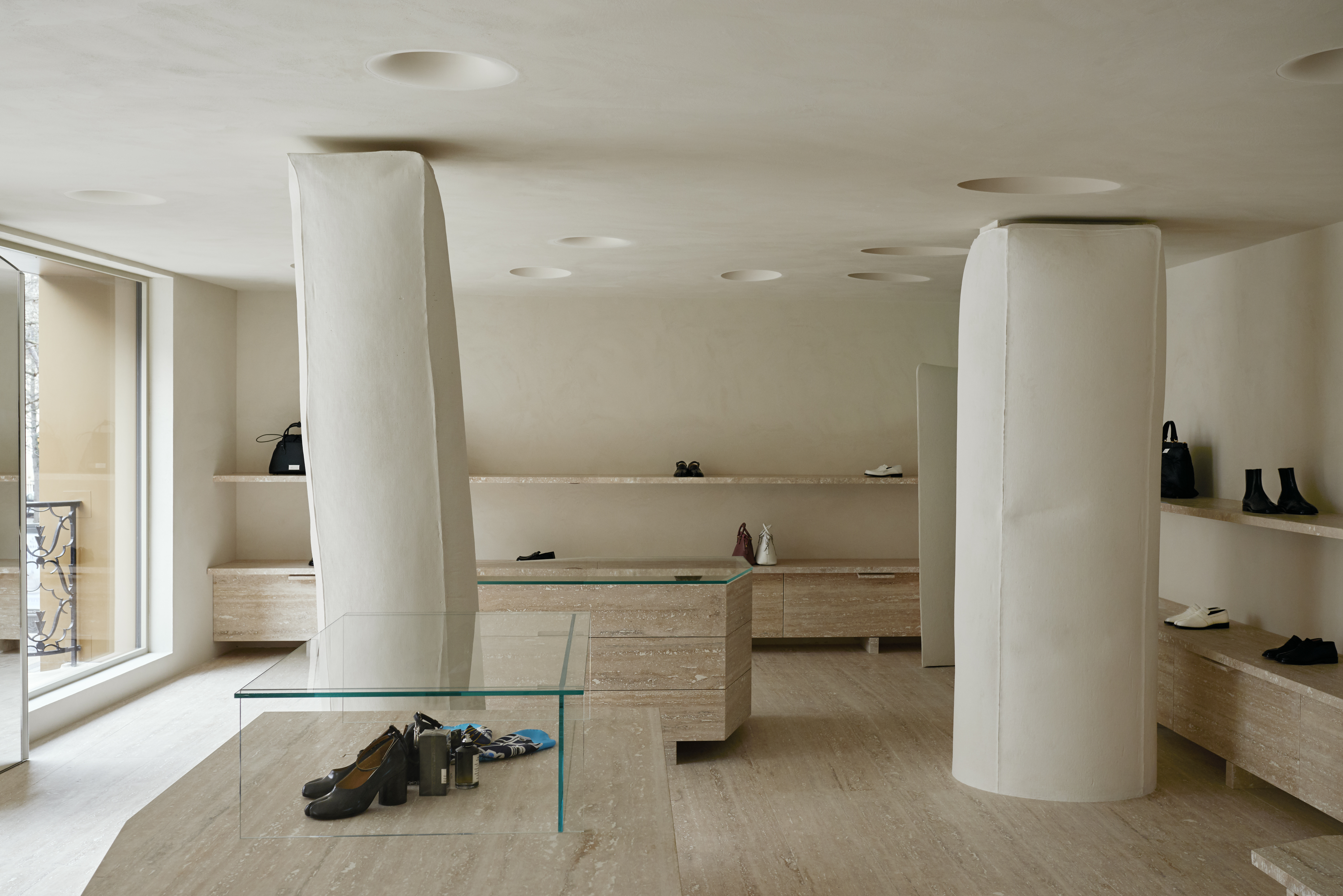 Maison Margiela has opened a new flagship boutique at 33, Avenue Montaigne in Paris's 8th arrondissement.