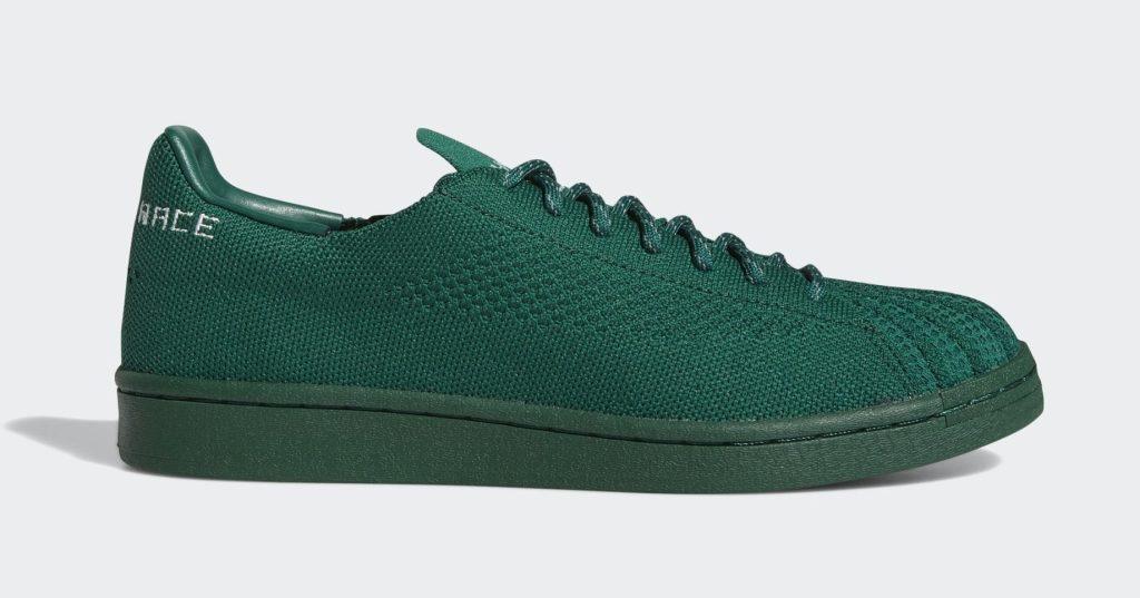 Pharrell x Adidas Superstar Green