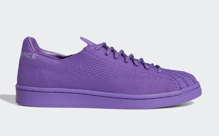 Pharrell x Adidas Superstar Purple