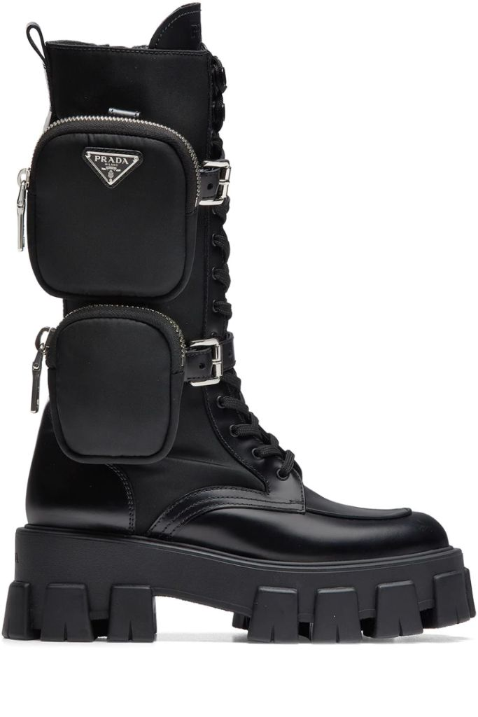 prada combat boots, prada boots, prada, 2020 boot trends, boots, fashion, fashion trends 2020 fashion trends, 2021 fashion tredns