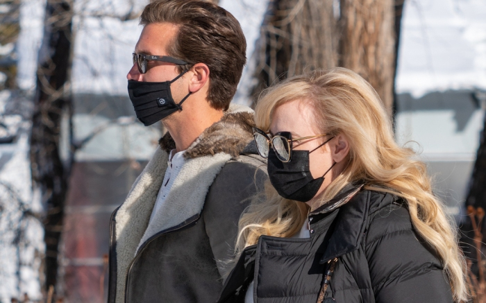 Rebel Wilson and Jacob Busch Attend Winter Snow Polo In Aspen