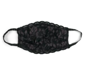 Hanky Panky Black Lace Mask
