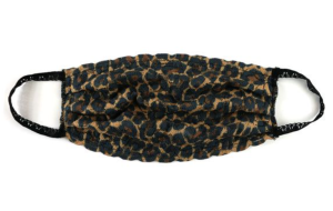 Hanky Panky x Custom Collaborative leopard print mask