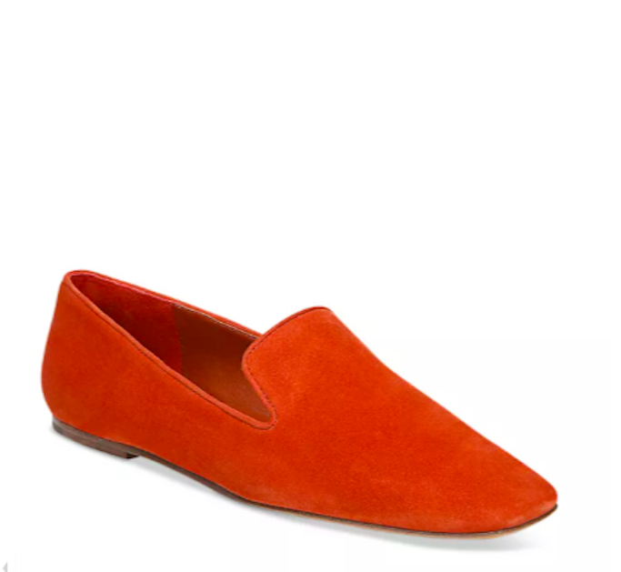 Vince Square Toe red Loafer