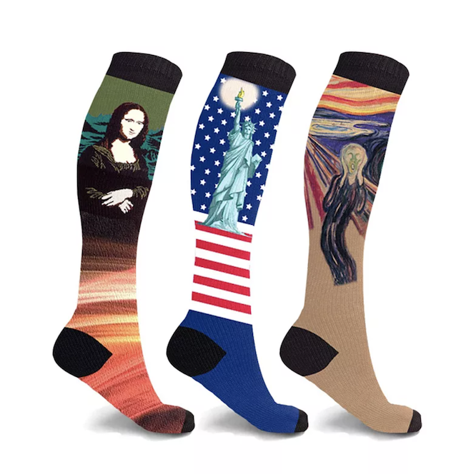 Extreme Fit Men's and Women's Compression Knee High Sock