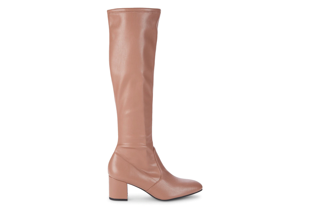 knee high boots, suede, leather, tan, stuart weitzman