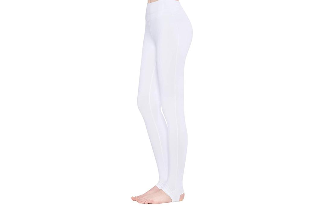 stirrup leggings, white leggings, amazon leggings