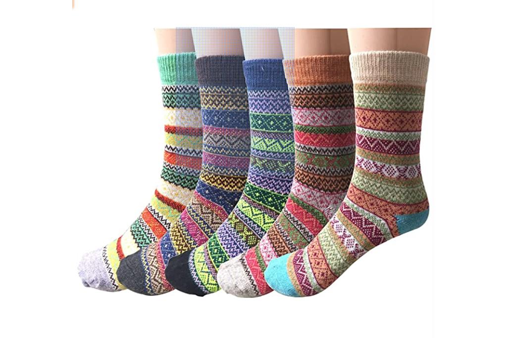amazon socks, wool socks, winter stocks