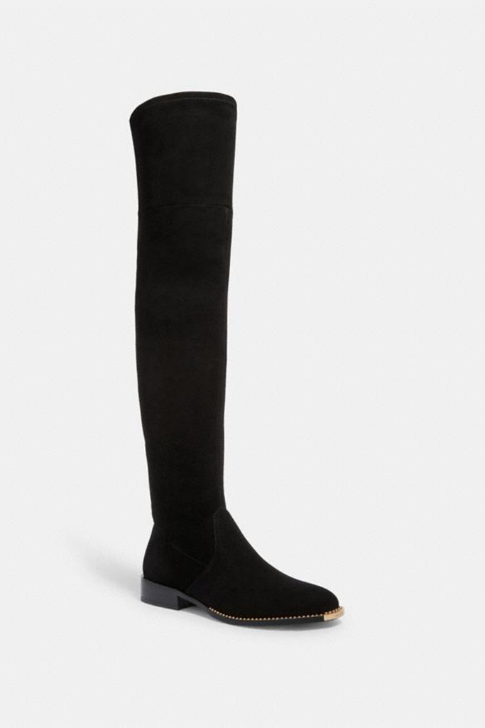 coach boat, over the knee boot, coach boot on sale