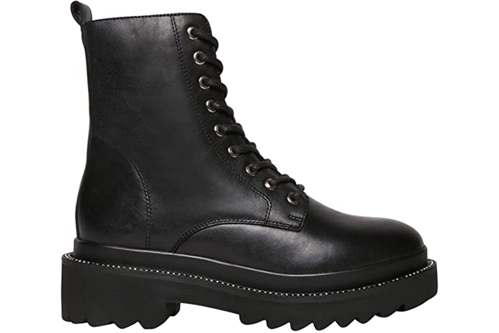 steve madden boots, combat boots, black boots