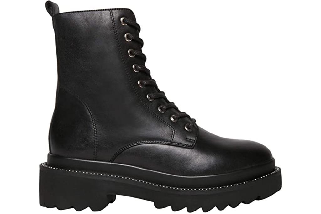 steve madden boots, combat boots, black boots