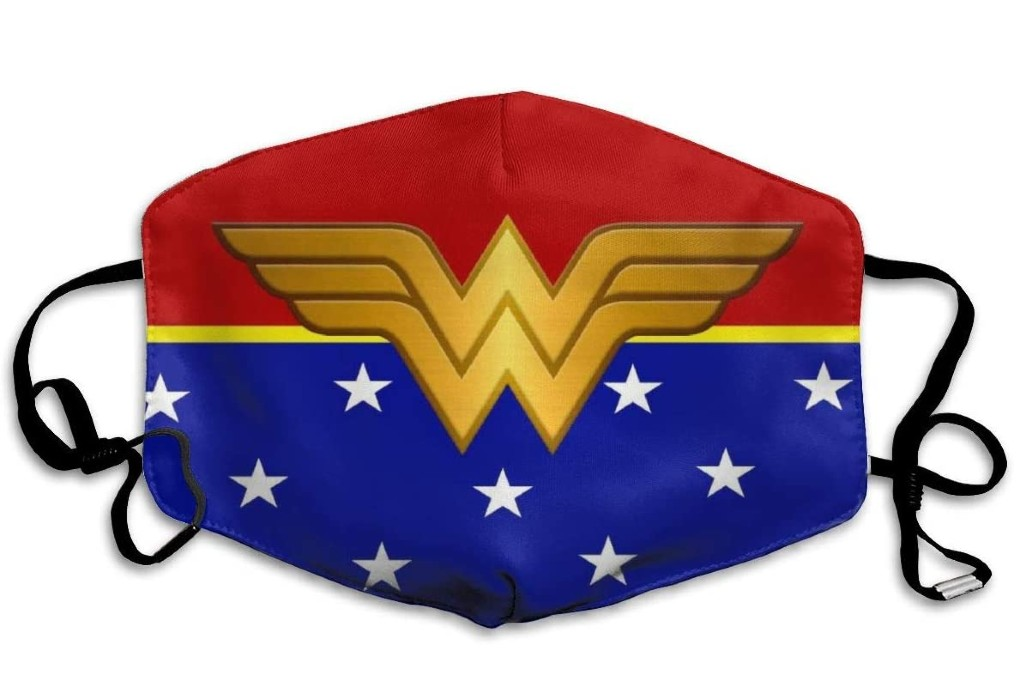 Lucky Night Wonder Woman Face Mask