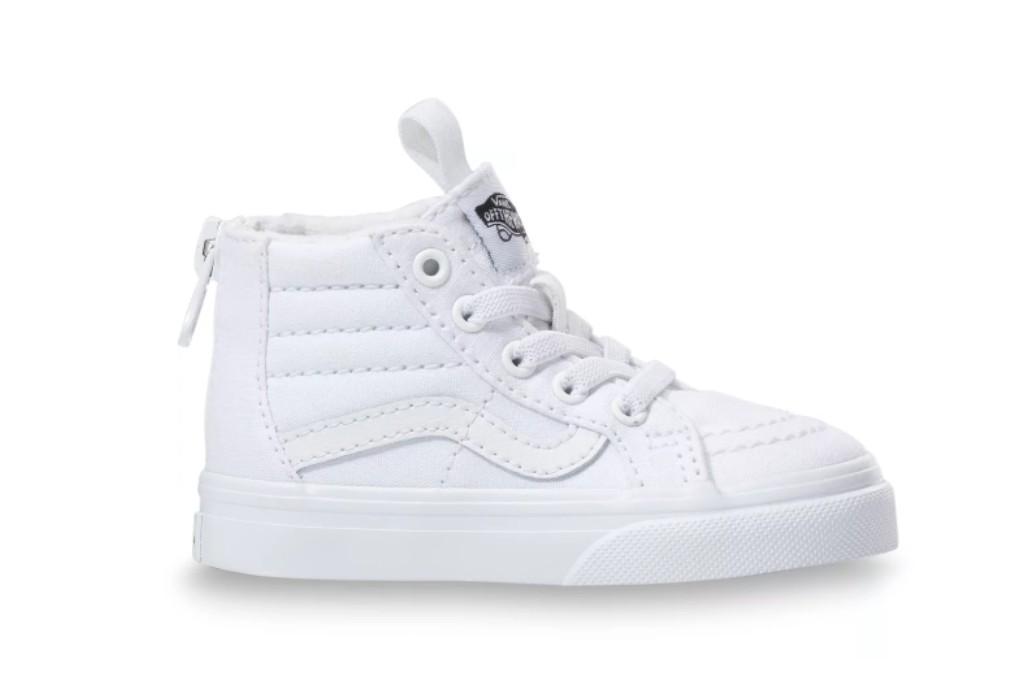 Vans Sk8-Hi Zip toddler, Sneakers for Active Toddlers, durable sneakers