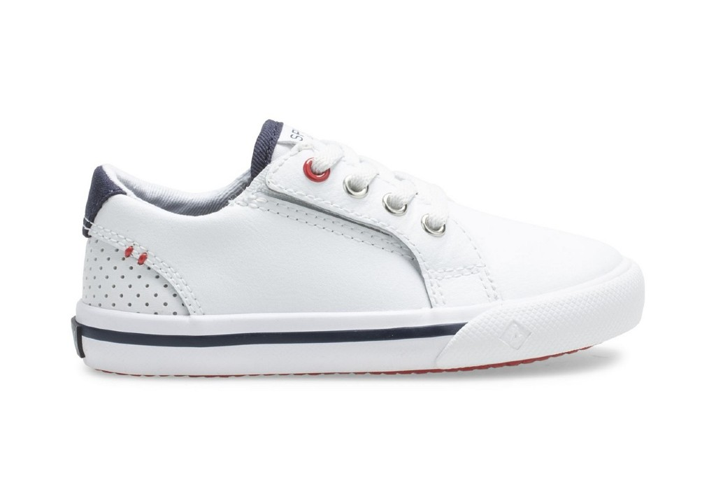 Sperry Striper II Jr Sneakers, Sneakers for Active Toddlers, durable sneakers
