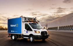 Walmart self-driving trucks in partnership with