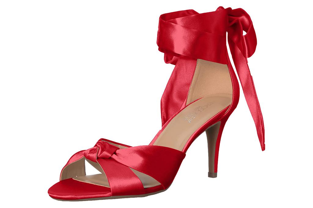 red sandals, heels, stiletto, shoes, aersoles