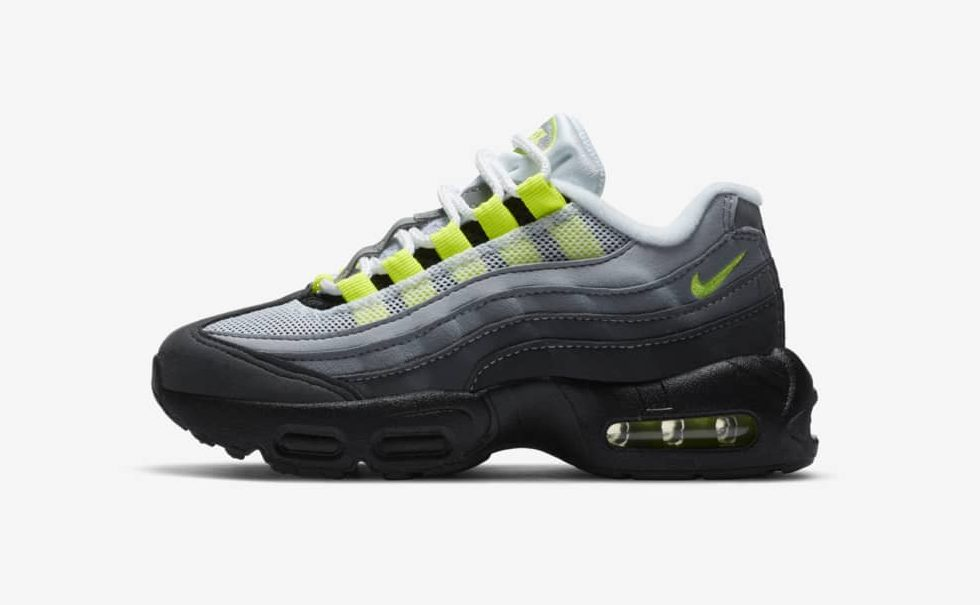 Nike Air Max 95 'Neon' Little Kids'