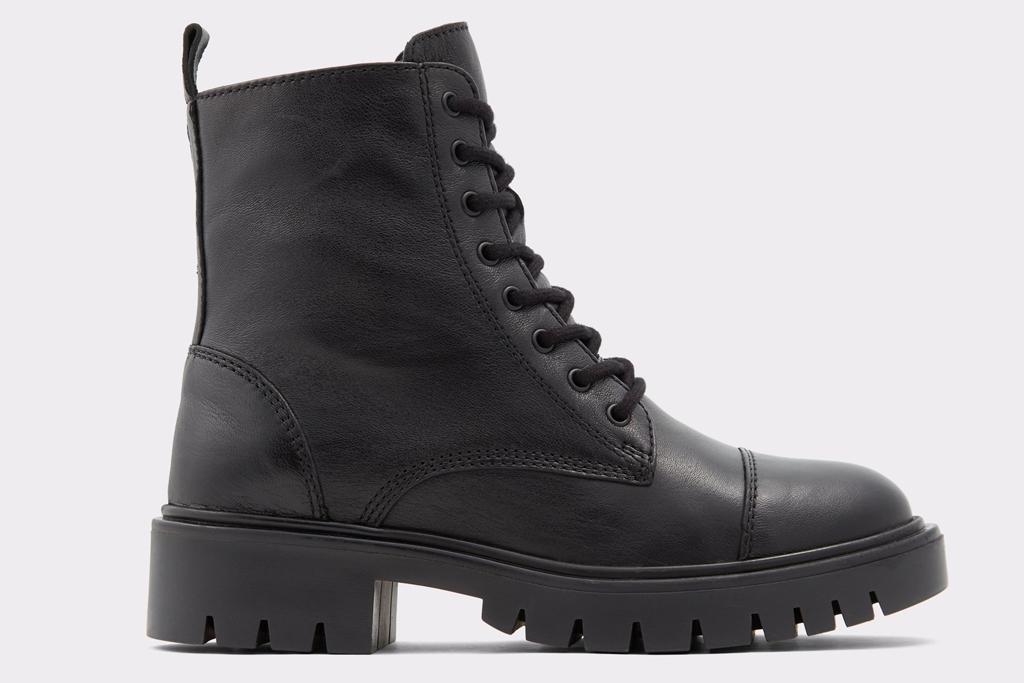 aldo, combat boots, black boots