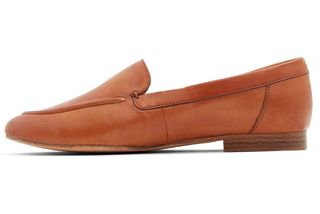 brown loafers, leather, aldo