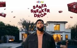 eBay Anthony Davis Santa Sneaker Drop