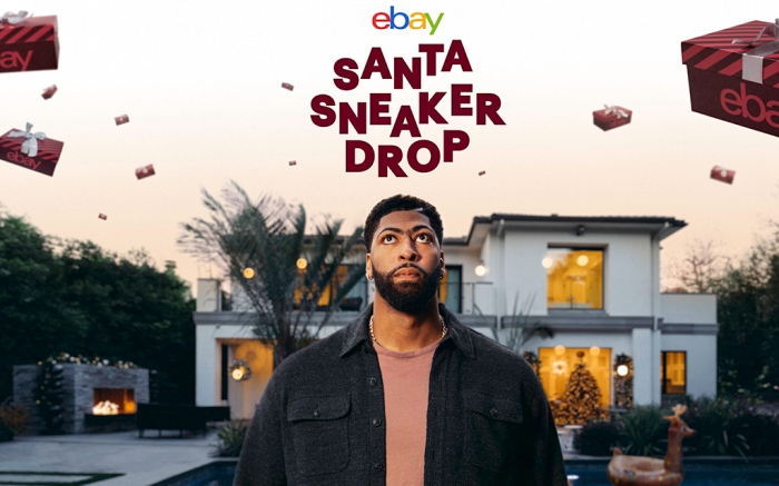 eBay Anthony Davis Santa Sneaker Drop
