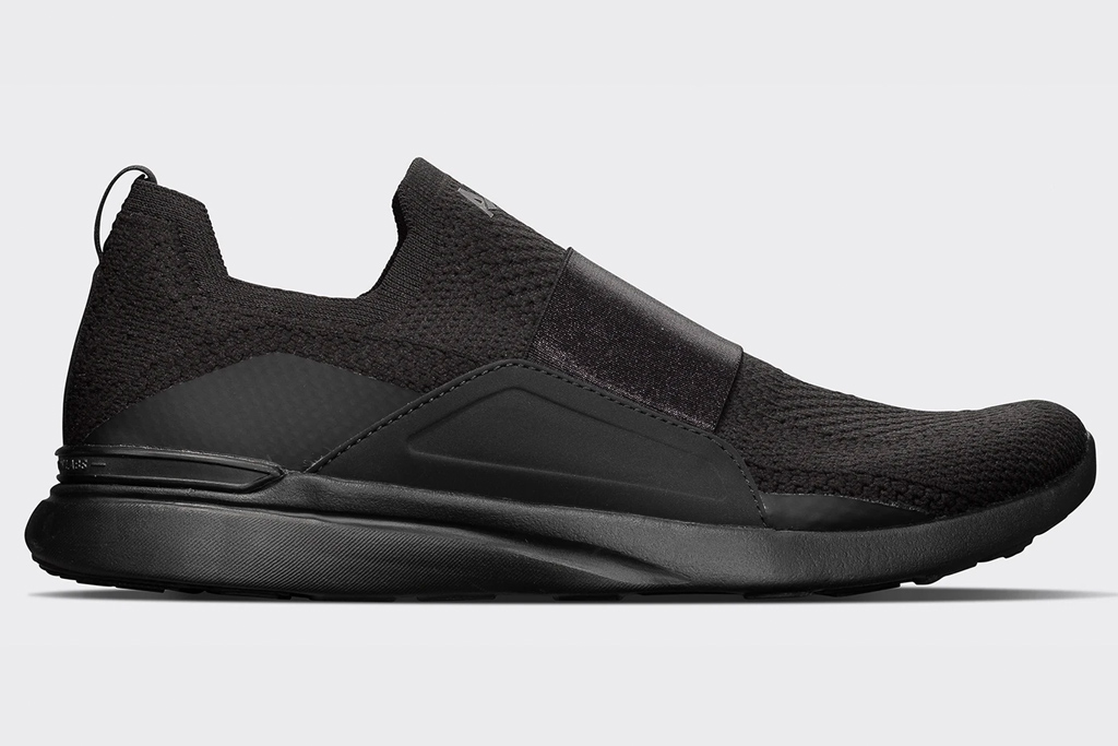 black, running shoes, women, apl