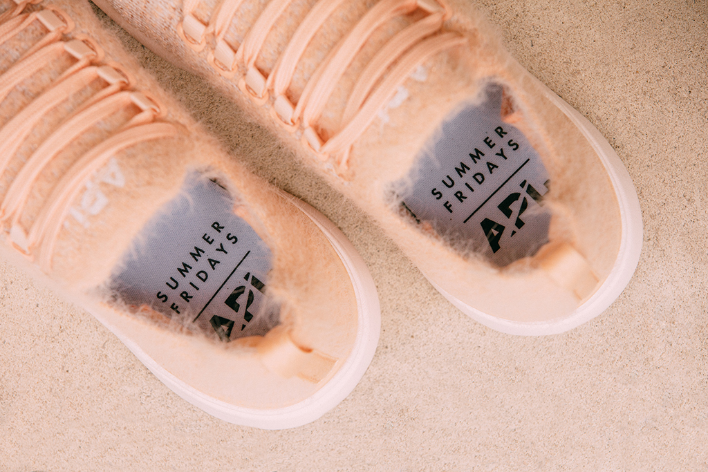 APL Recruits This LA Beauty Brand to Create a Stylish Two-Shoe Collaboration