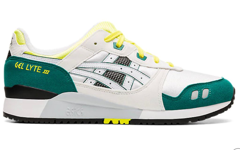 asics gel lyte iii, dad shoes, 2020 fashion trends