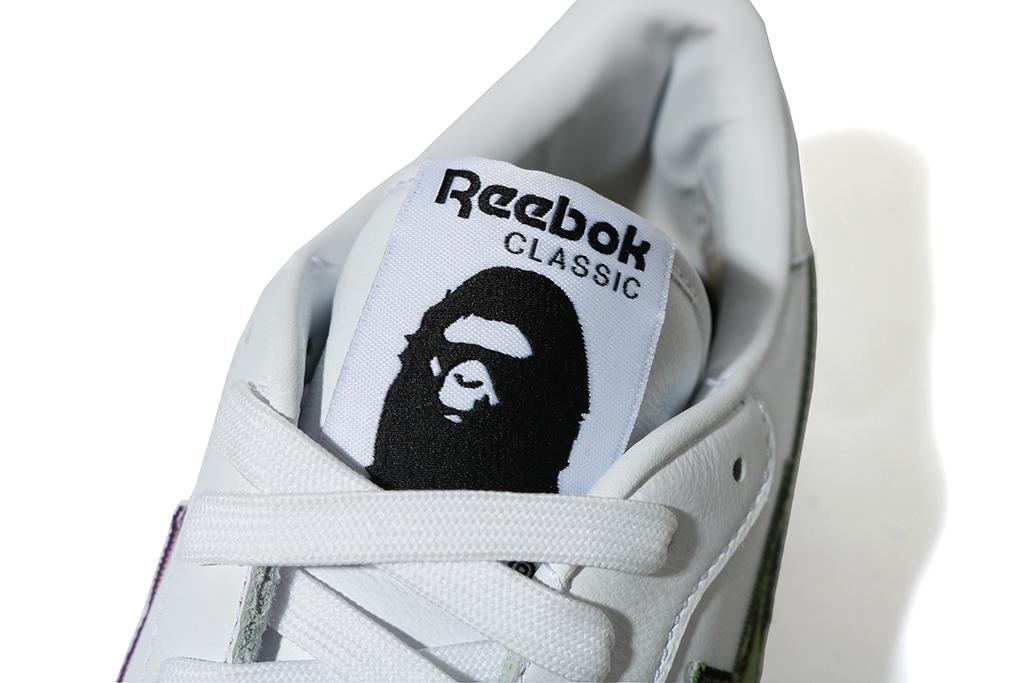 Bape x Reebok Club C