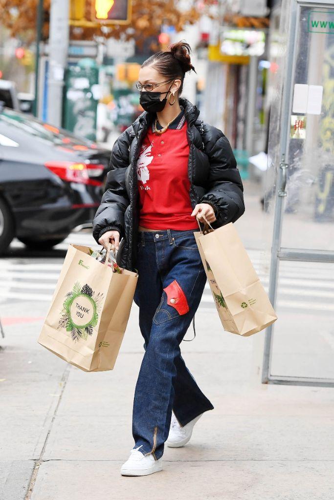 bella hadid, 2000s style, 2020 fashion trends, fashion trends