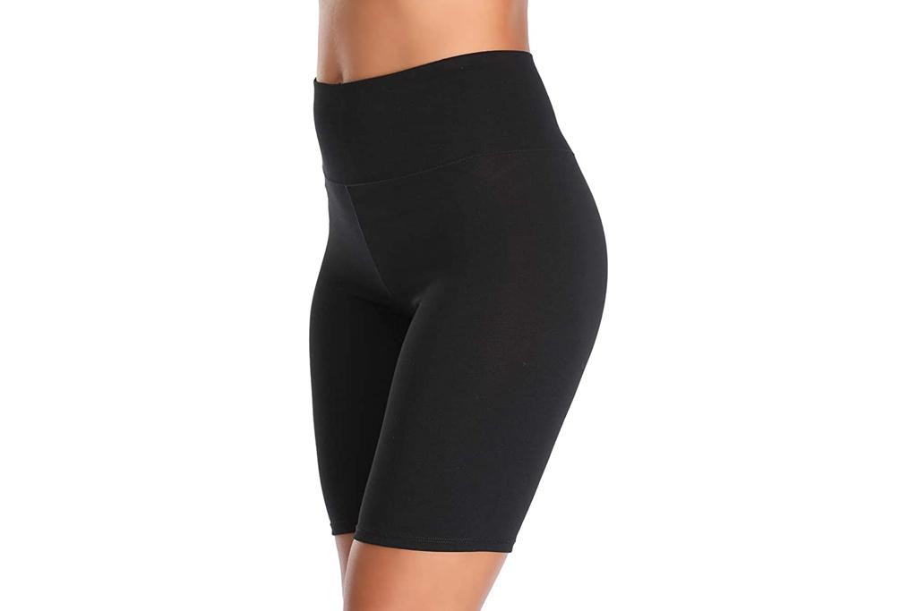 biker shorts, black, spandex